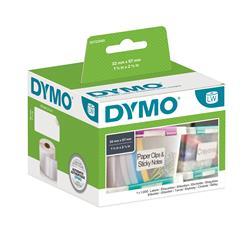 Etichette Dymo LabelWriter carta removibile - 57x32mm - bianco - S0722540
