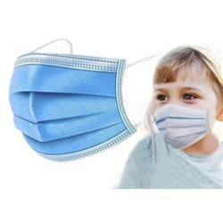 Mascherine chirurgiche per bambini - Tipo II - Certificazione CE - azzurro - Conf. 10
