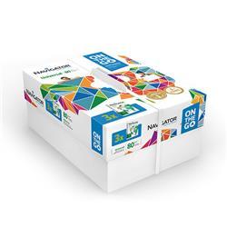 Carta A4 Navigator Universal On the Go - per stampe di alta qualità - bianca - 80 g/mq - conf. 3 risme