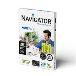 Carta A4 Navigator Universal Home Pack - per stampe di alta qualità - bianca - 80 g/mq - 250 fogli