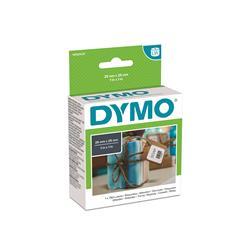 Etichette Dymo LabelWriter carta removibile - 25x25mm - bianco - S0929120