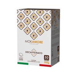 Capsule compatibili Mokamore Lavazza A Modo Mio - Decaffeinato - conf. 50