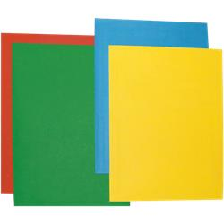 Cartelline Color Brefiocart - semplici - 35x25 cm - azzurro - conf. 50