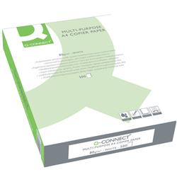 Carta A4 Q-connect - per stampe e copie - bianca - 80g/mq - conf. 5 risme