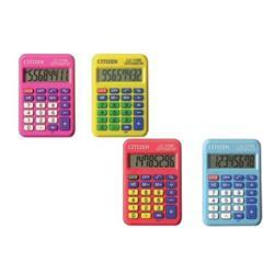 Calcolatrice tascabile Citizen - Z300019 - colori assortiti