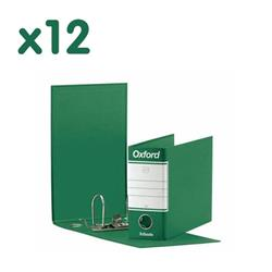 Registratori Oxford Esselte - memorandum - dorso 8 - 23x18 cm - verde - conf. 12