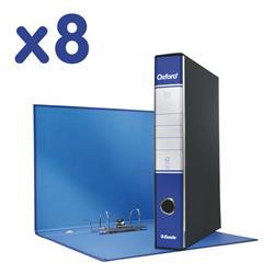 Registratori Oxford Esselte - commerciale - dorso 5 - 23x30 cm - blu - conf. 8