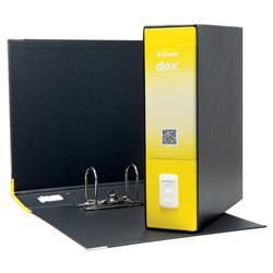 Registratore Dox 1 Esselte - commerciale - dorso 8 - 23x30 cm - giallo