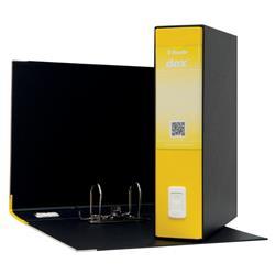 Registratore Dox 2 Esselte - protocollo - dorso 8 - 23x33 cm - giallo