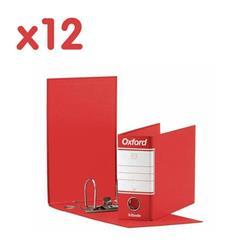 Registratori Oxford Esselte - memorandum - dorso 8 - 23x18 cm - rosso - conf. 12