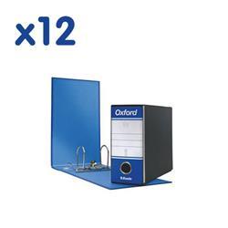 Registratori Oxford Esselte - memorandum - dorso 8 - 23x18 cm - blu - conf. 12