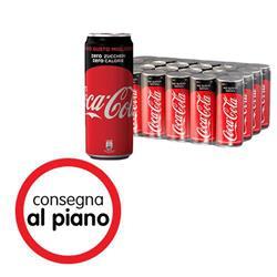 Coca Cola Zero in lattina - 33 cl -  conf. 24
