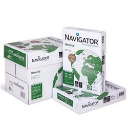 Carta A4 Navigator Universal - per stampe di alta qualità - bianca - 80g/mq - conf. 5 risme
