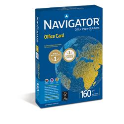 Carta A4 Navigator Office Card - per stampa di alta qualità - bianca - 160g/mq