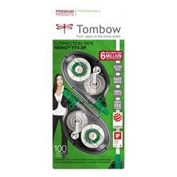 Correttore a nastro Mono Tombow - 4,2 mm x 10 m - conf. 2