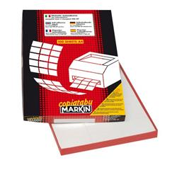 Etichette adesive Markin - 210x297 mm - Nr. etichette / foglio 1 - X210C503